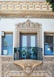 西班牙样式建筑学 免版税库存图片