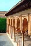 西班牙格拉纳达阿尔罕布拉宫赫内拉利费宫(12) 免版税库存照片