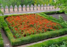 西班牙格拉纳达阿尔罕布拉宫赫内拉利费宫(10) 免版税库存照片