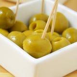 西班牙橄榄色的塔帕纤维布 免版税库存照片