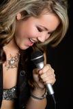 西班牙歌唱家 免版税库存图片