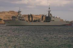 西班牙海军油工 免版税库存照片