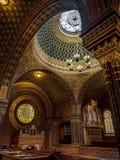 西班牙犹太教堂在布拉格 库存照片