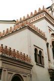 西班牙犹太教堂 库存照片