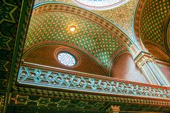 西班牙犹太教堂 免版税库存图片