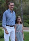 西班牙王室暑假015 免版税库存图片