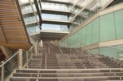 西班牙现代结构在毕尔巴鄂 免版税图库摄影