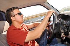 西班牙男性驾驶 库存图片