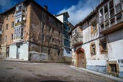 西班牙的北部历史城市 免版税库存图片