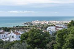 西班牙的南部的内尔哈 免版税库存图片