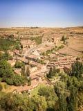 西班牙的南部的小村庄 免版税图库摄影