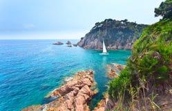 西班牙的地中海海岸 库存图片