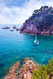 西班牙的地中海海岸 免版税图库摄影