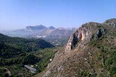 西班牙的山 库存图片