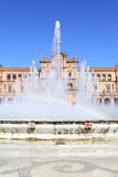 西班牙的正方形 库存图片