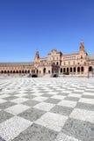 西班牙的正方形 免版税图库摄影