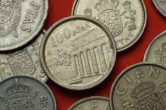西班牙的硬币 Prado博物馆 库存图片