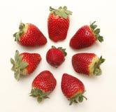 从西班牙的草莓 免版税库存图片