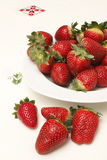 从西班牙的草莓 免版税图库摄影