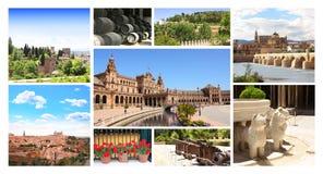 西班牙的著名地方 免版税库存图片