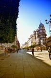 西班牙目的地,塞维利亚 库存图片