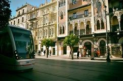 西班牙目的地,塞维利亚 免版税图库摄影