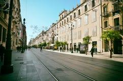 西班牙目的地,塞维利亚 免版税库存照片