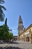 西班牙目的地,科多巴 免版税库存照片