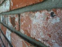 西班牙砖墙 免版税库存图片