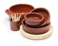 西班牙碗筷品种 图库摄影