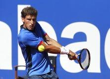 西班牙网球员帕布鲁卡雷尼奥Busta 免版税库存照片