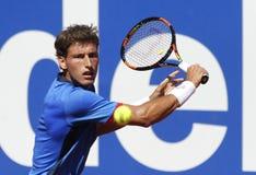 西班牙网球员帕布鲁卡雷尼奥Busta 库存图片
