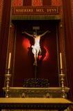 西班牙耶稣受难象 库存图片