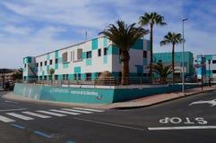 西班牙联合国科教文组织生物圈储备基础的总部 免版税库存图片