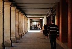 西班牙街道视图 免版税图库摄影