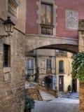 西班牙语人聚居的区域jud o 免版税库存图片