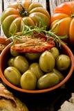 西班牙语巨人的橄榄 免版税库存照片