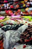 西班牙语的织品 库存照片