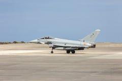 西班牙语空军队Eurofighter 免版税库存照片