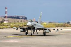 西班牙语空军队Eurofighter 免版税图库摄影