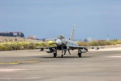 西班牙语空军队Eurofighter 库存图片