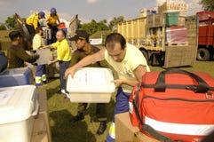 西班牙语红十字会 库存图片