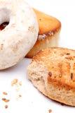 西班牙酒多福饼和mantecados 免版税库存图片