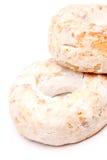 西班牙酒油炸圈饼 免版税库存照片