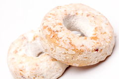 西班牙酒油炸圈饼 免版税库存图片