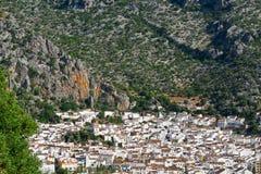 西班牙镇 库存图片