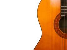 西班牙音响经典吉他 库存照片