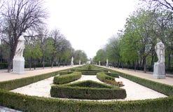 西班牙马德里, Parque de马德里 库存照片
