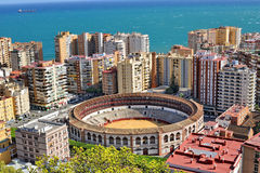西班牙马拉加 免版税库存照片