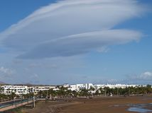 西班牙,兰萨罗特岛 库存照片
